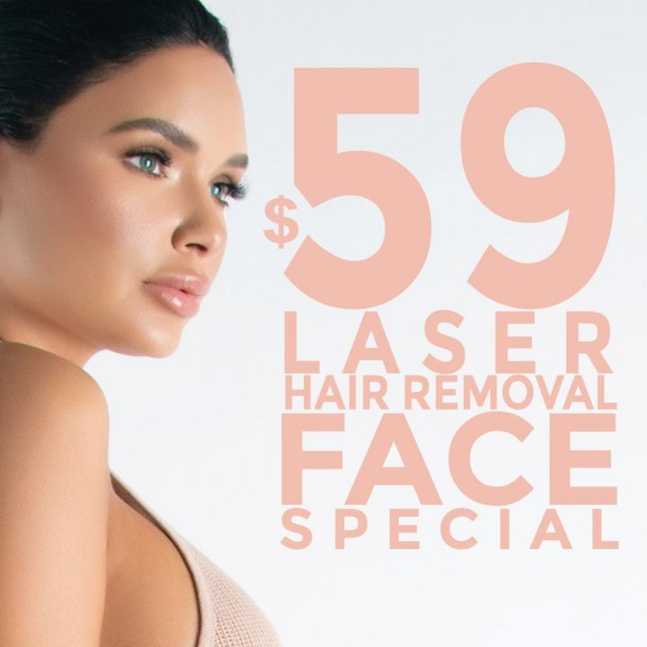 Laser Hair Removal $59 Face Special in Las Vegas